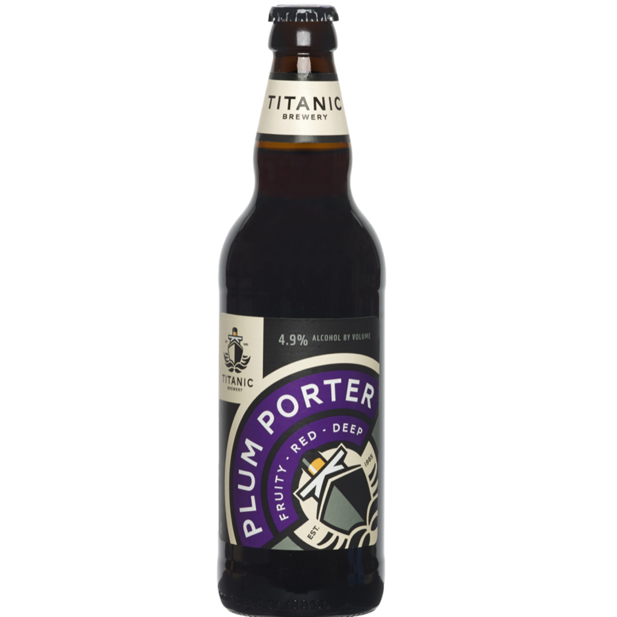 Titanic Plum Porter 4.9% 500ml