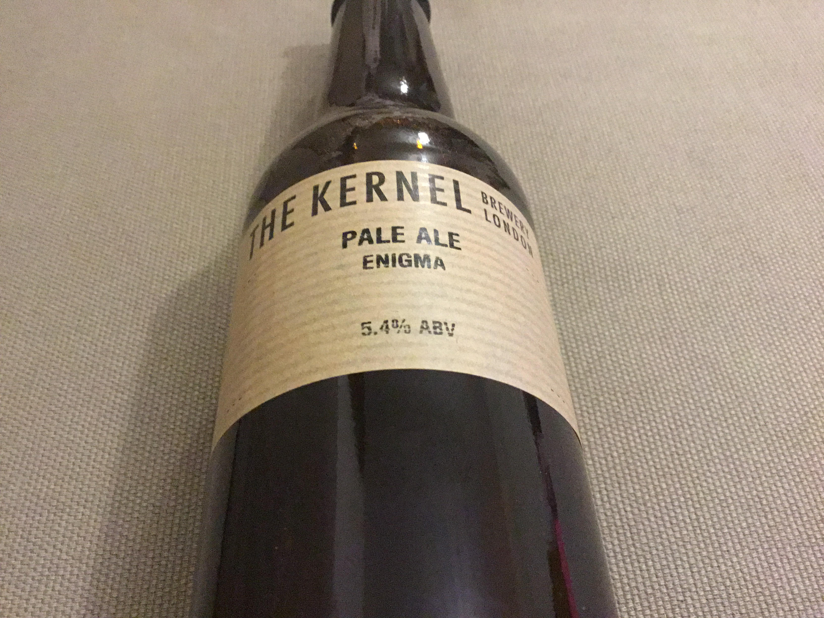 Pale Ale Enigma 5.4% 330ml The Kernel Brewery London
