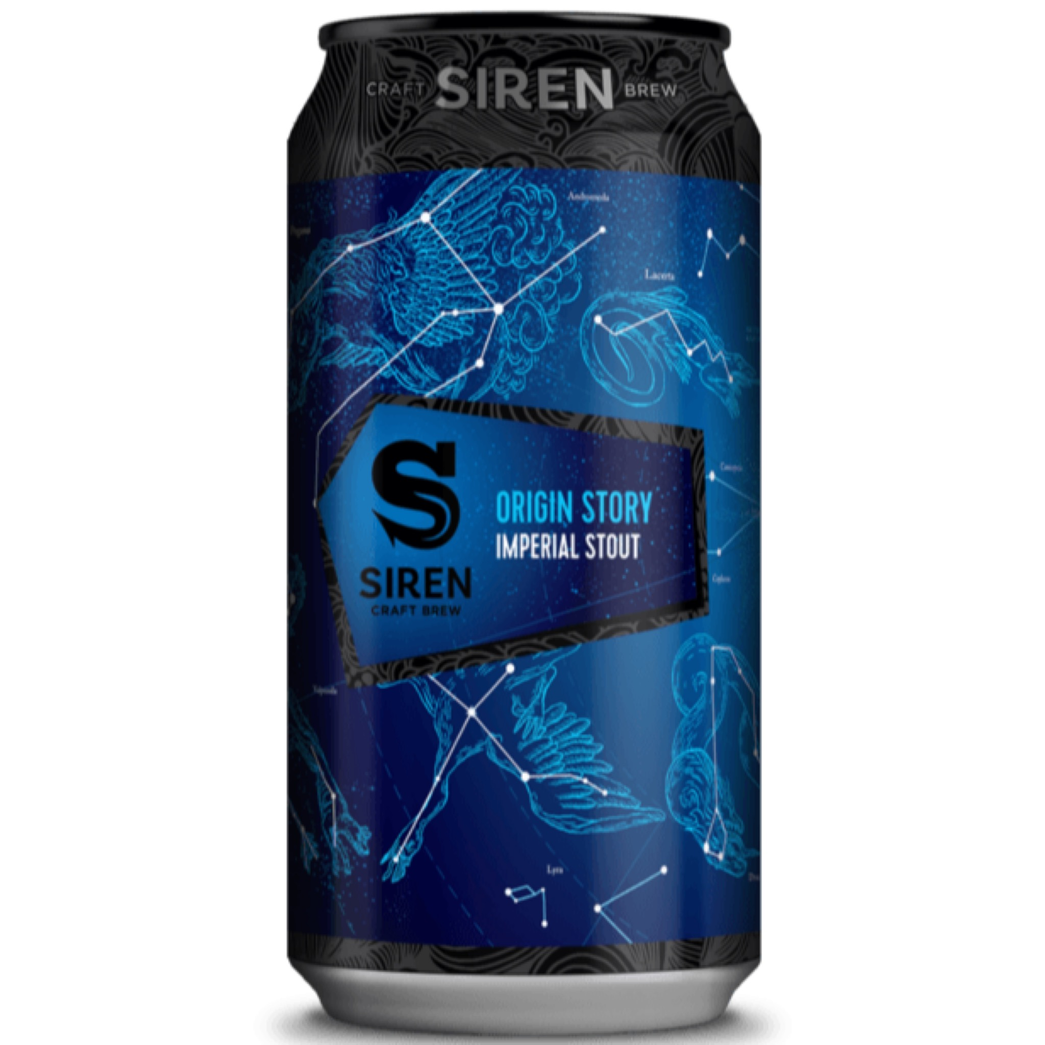 Origin Story - Imperial Stout 10% 440ml Siren Craft Brew