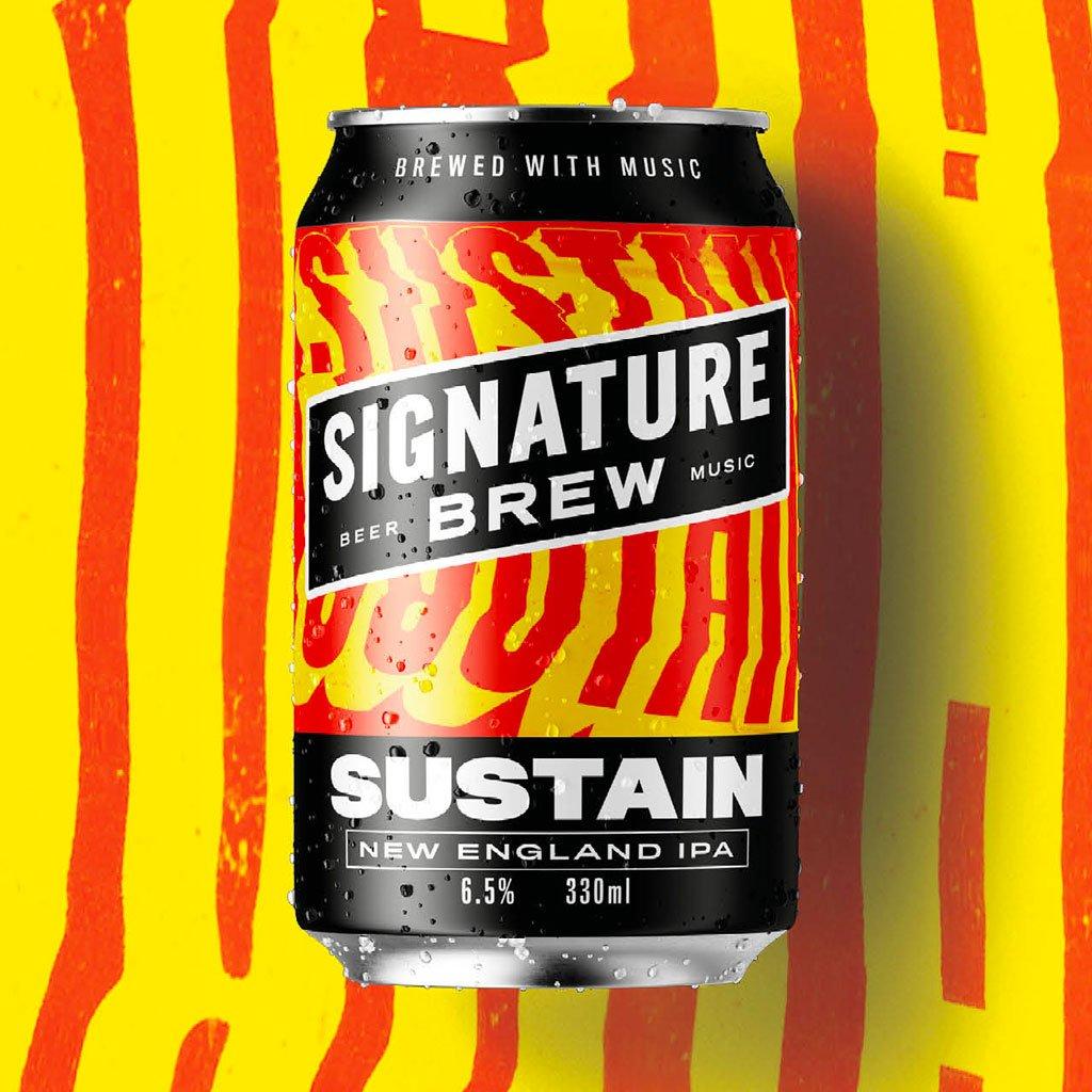 Sustain NE IPA 6.5% 330ml Signature Brew