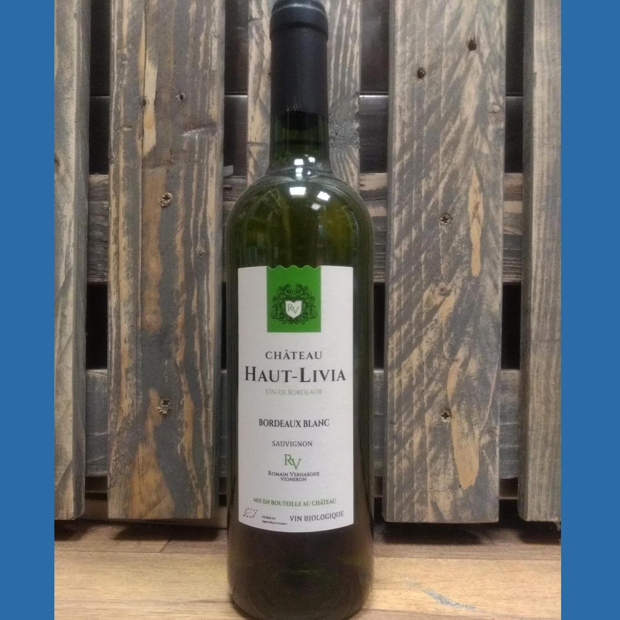 Organic Sauvignon Blanc Chateau Haut Livia – Bordeaux 12% 750ml