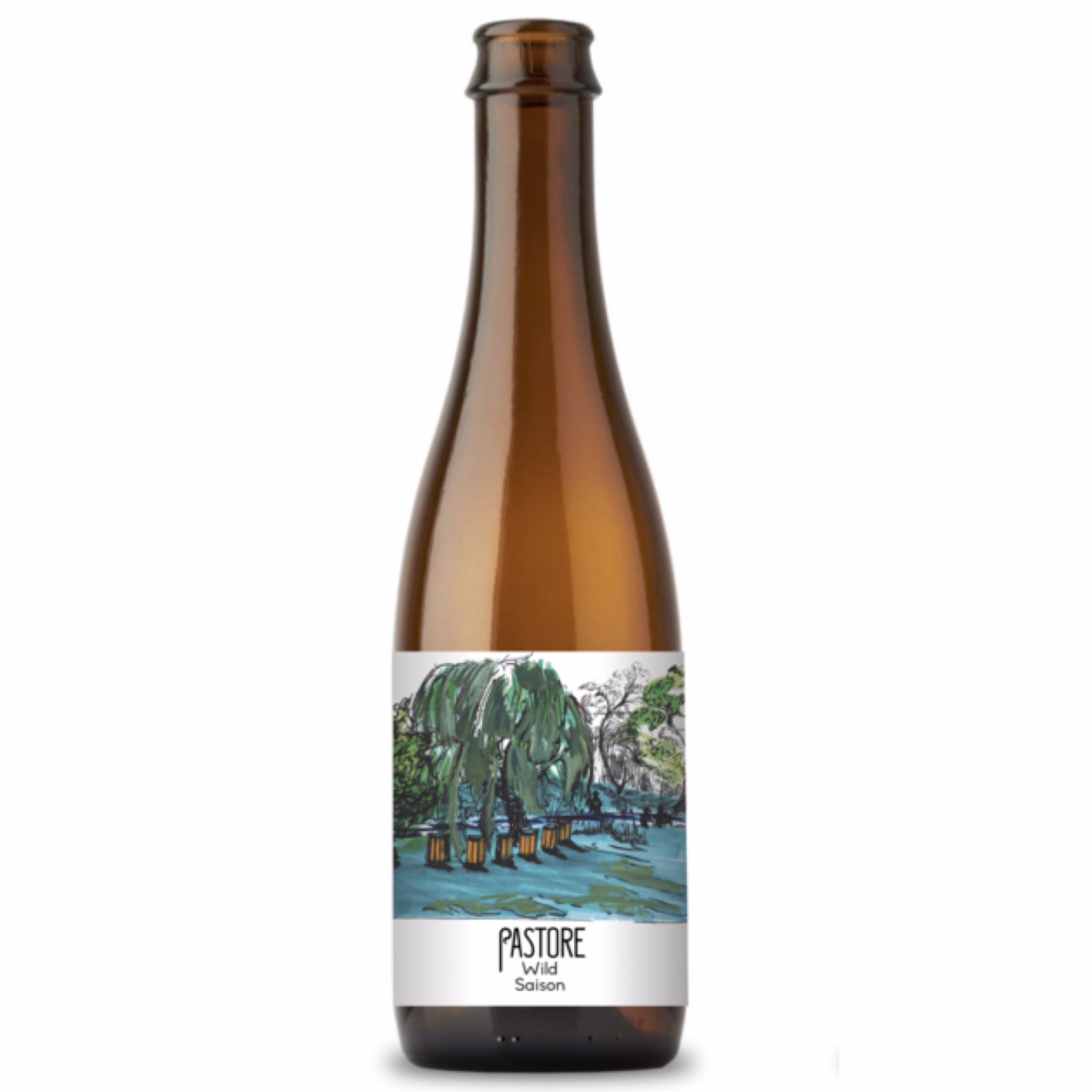 Wild Saison 5.6% 375ml Pastore Brewing & Blending