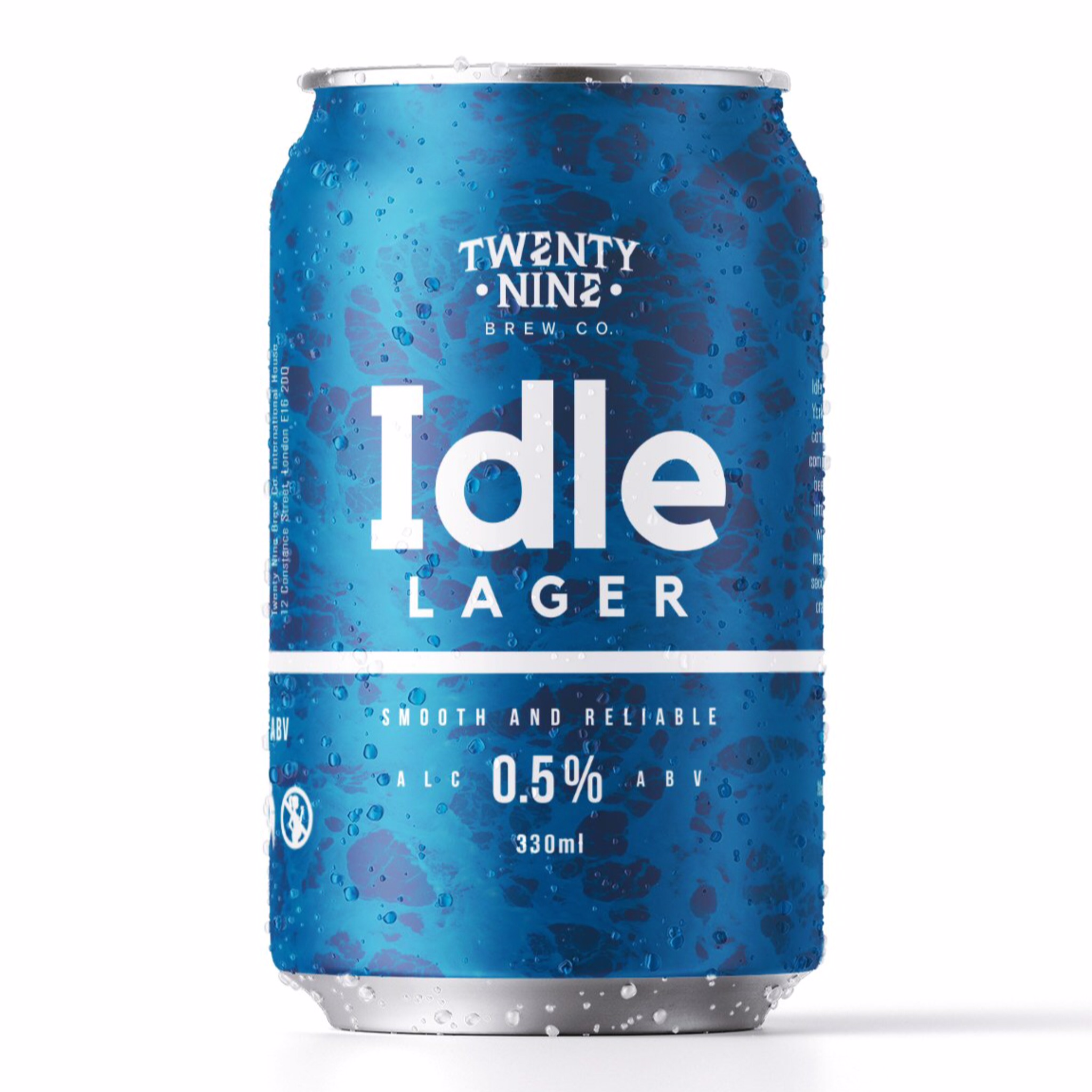 Idle - Lager 0.5% 330ml Twenty Nine Brew Co