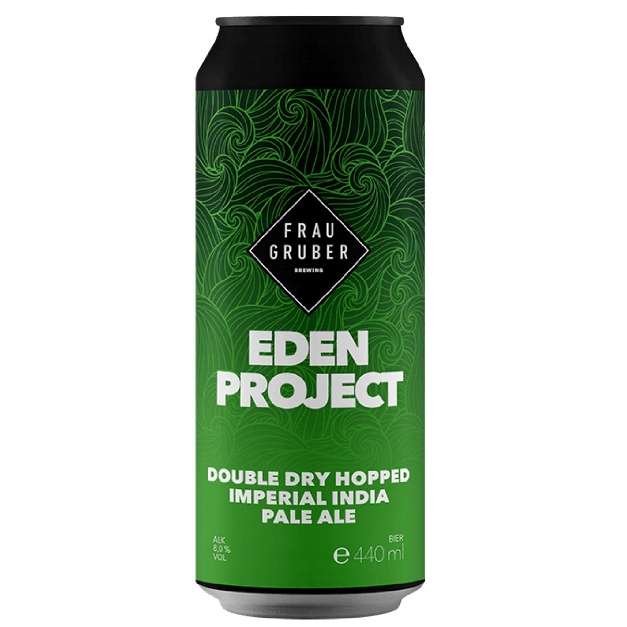 Eden Project DDH Imp IPA 8% 440ml Frau Gruber