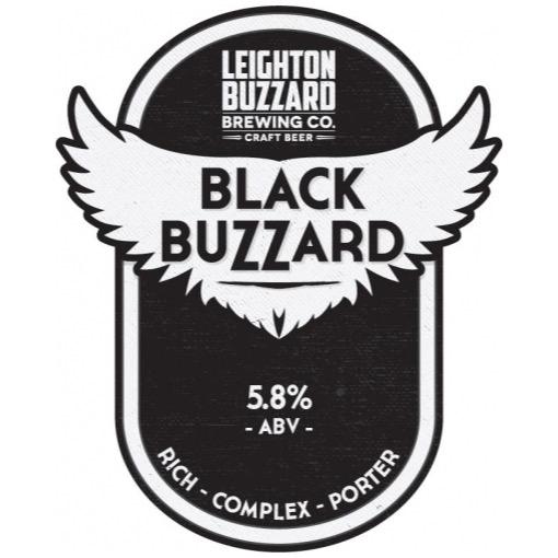 Black Buzzard Porter 5.8% 500ml Leighton Buzzard Brewing