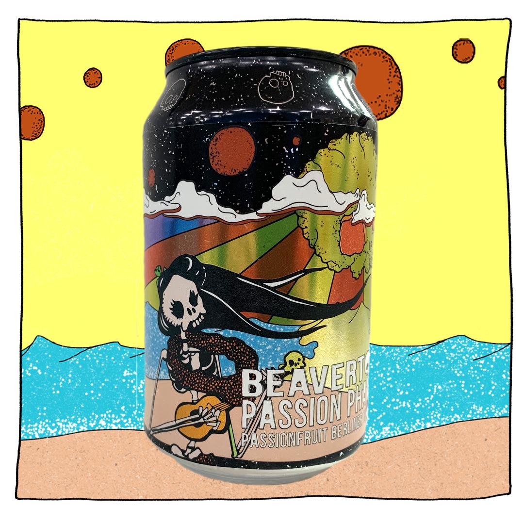 Passion Phantom - Passionfruit Berliner Weisse 3.5% 330ml Beavertown Brewing