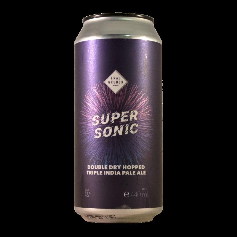 Super Sonic DDH Triple IPA 9.8% 440ml Frau Gruber Brewing