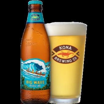 Big Wave Golden Ale 4.4% 355ml Kona Brewing
