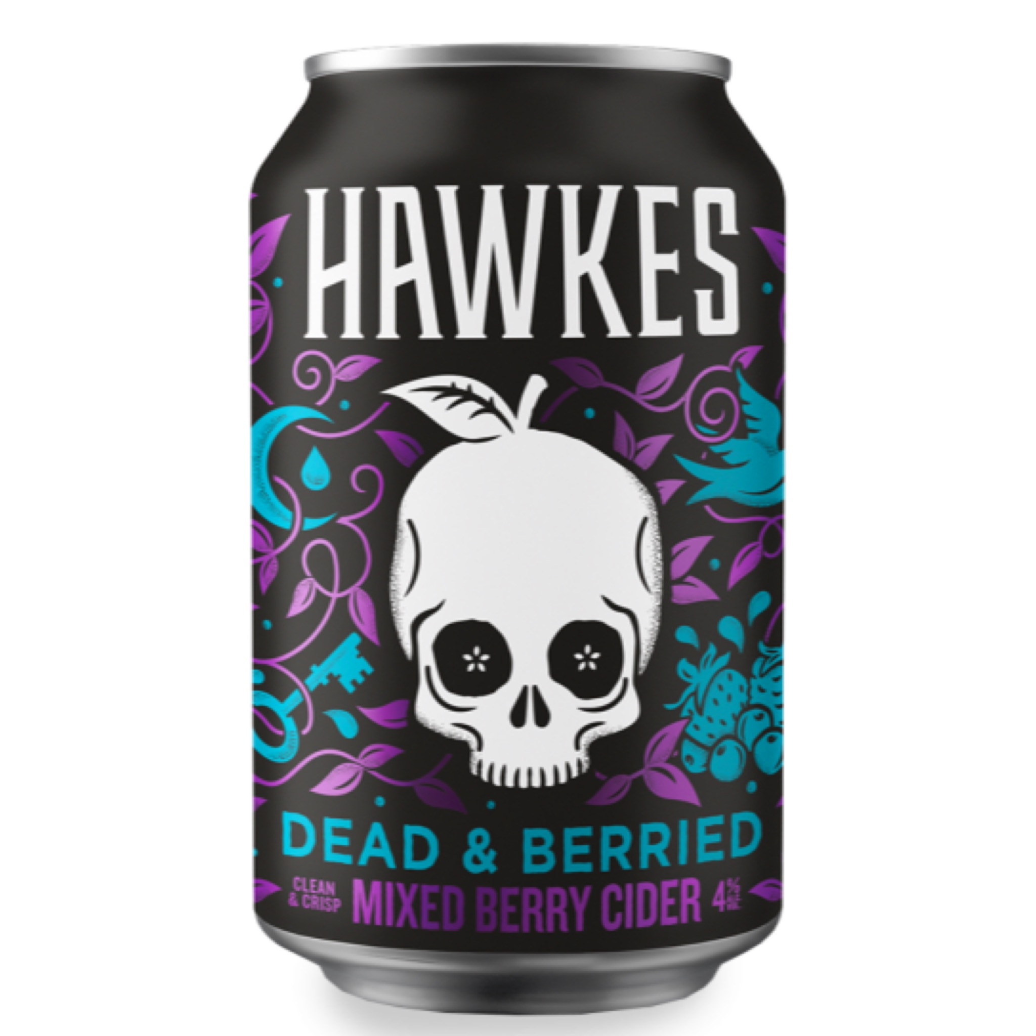 Dead & Berried Cider 4% 330ml Hawkes