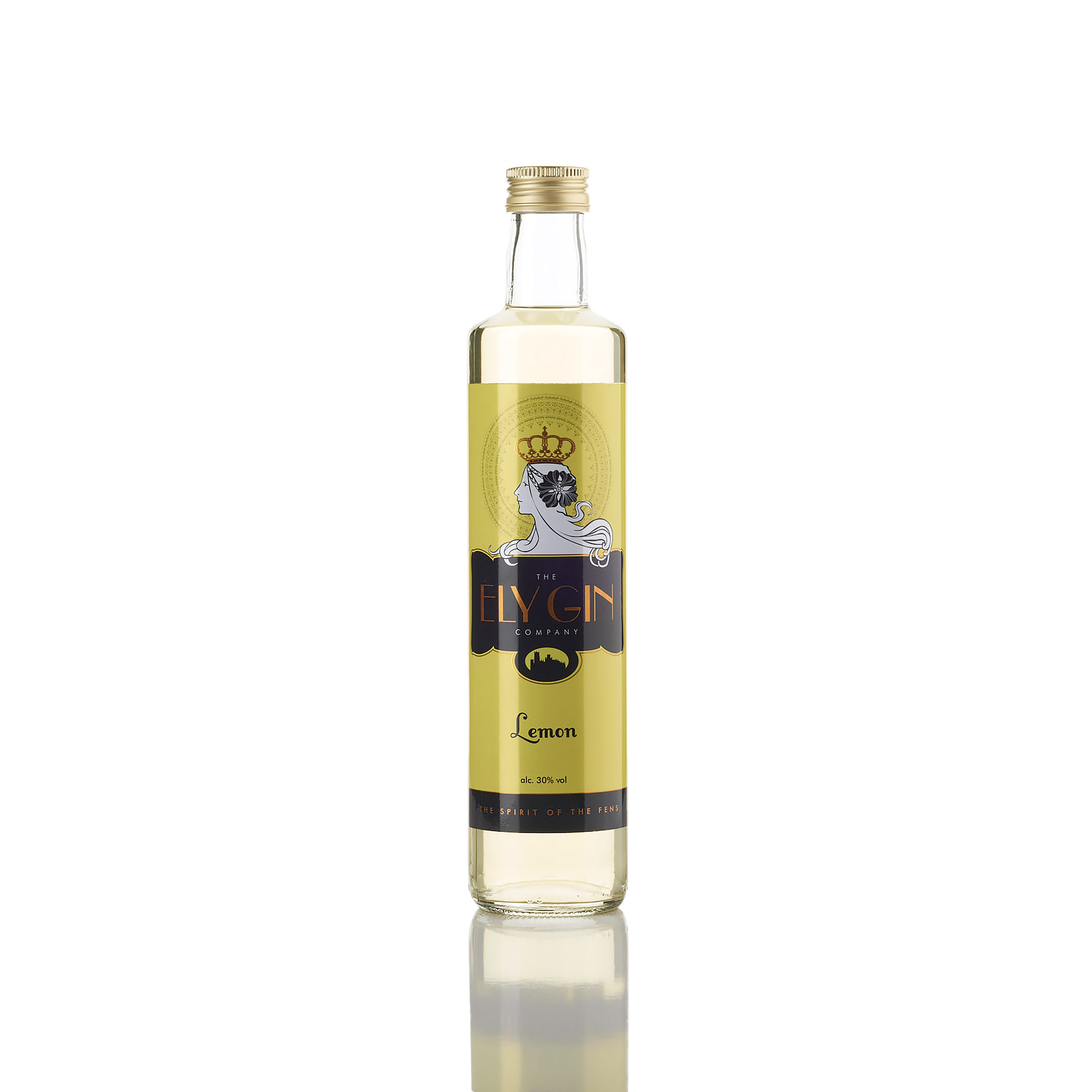 Ely Gin With Lemon 30% 500ml BBE May