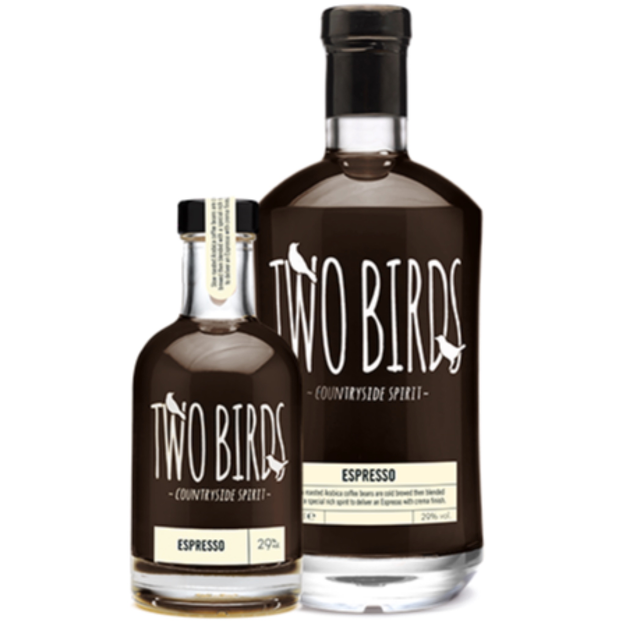 Two Birds Espresso Spirit 29% 200ml & 700ml