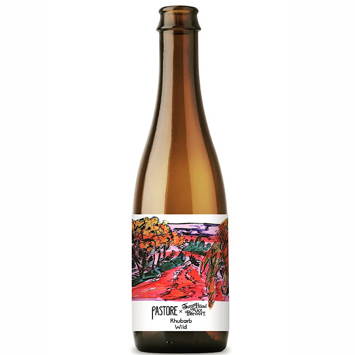 Rhubarb Wild 5% 375ml Pastore Brewing & Blending