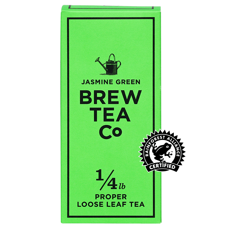 Jasmine Green Loose Leaf Tea 113g Brew Tea Co