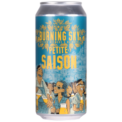 Petite Saison 3.5% 440ml Burning Sky Brewing