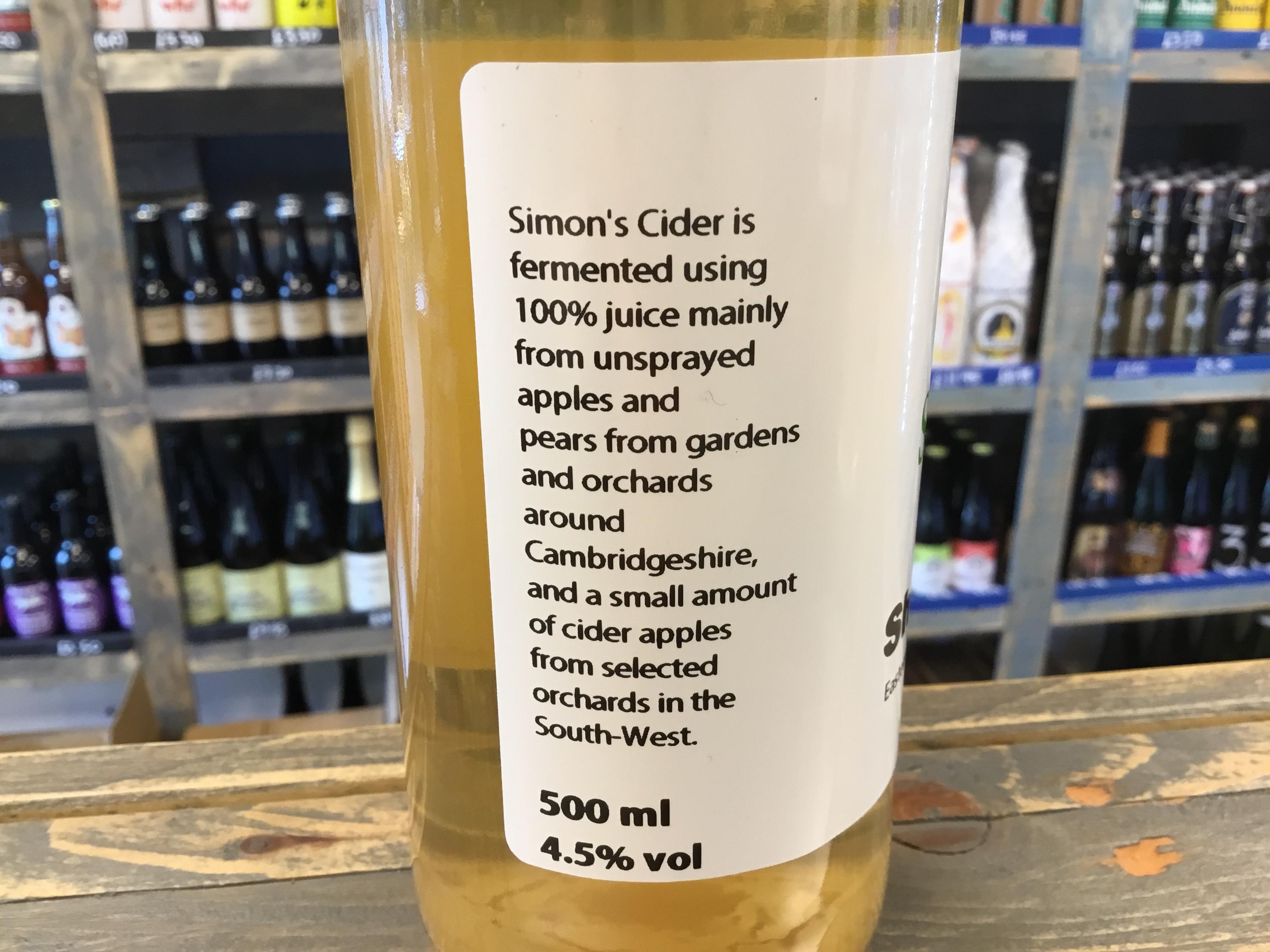 Short Stirling 4.5% 500ml Simon's Cider