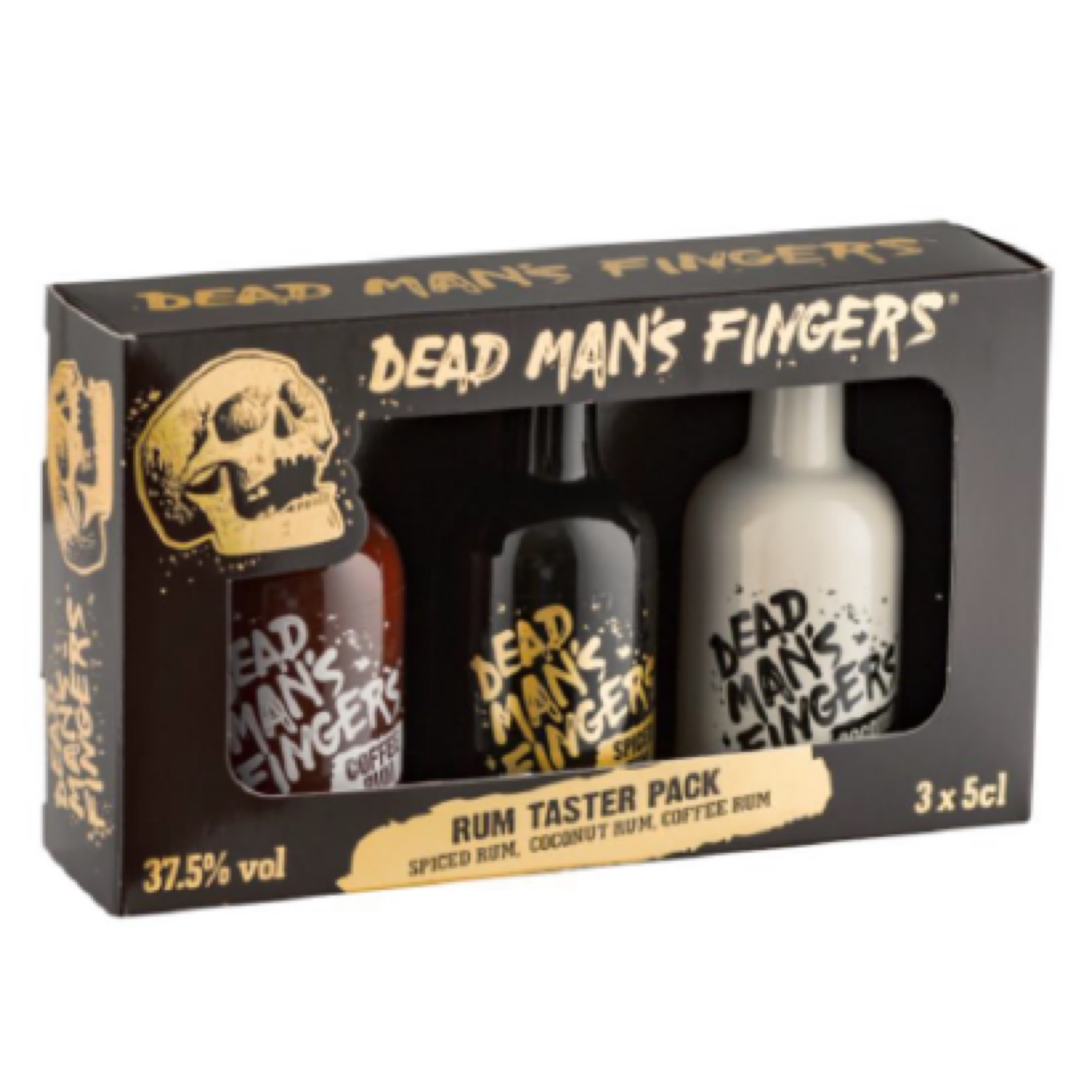 Dead Man's Fingers Rum Gift Pack 3 x 50ml 37.5% (150ml)