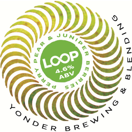 Loop Pear & Juniper Sour 4.6% 750ml Yonder Brewing