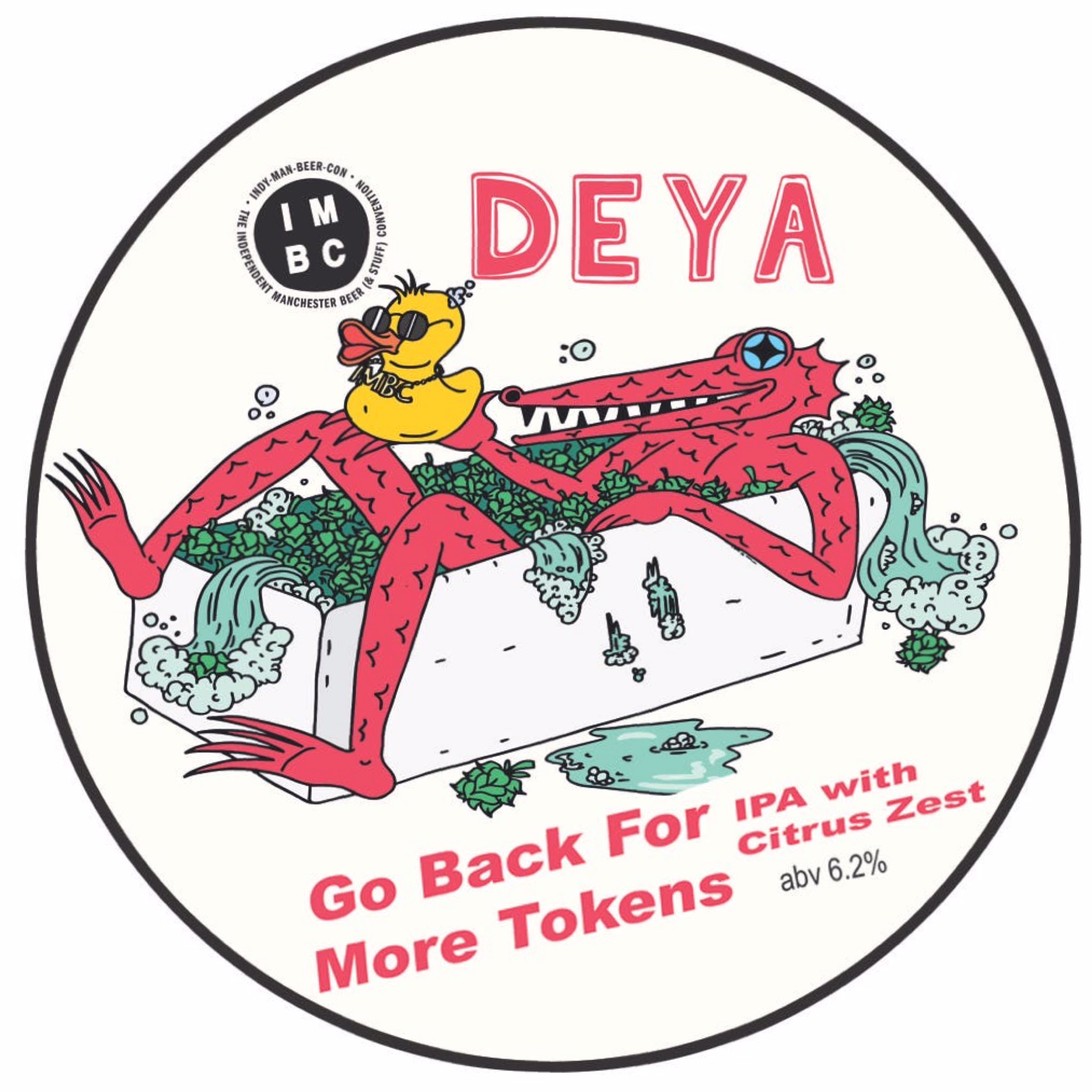 Go Back For More Tokens IPA 6.2% 500ml Deya Brewing