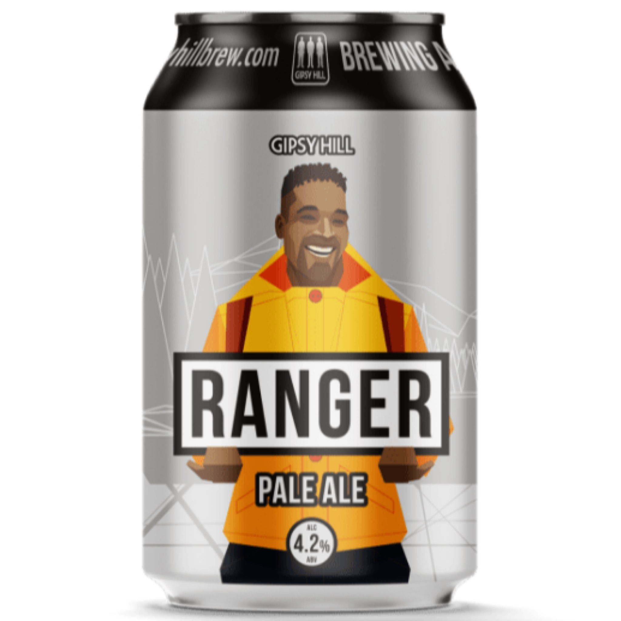 Ranger Pale Ale 4.2% 330ml Gipsy Hill Brewing
