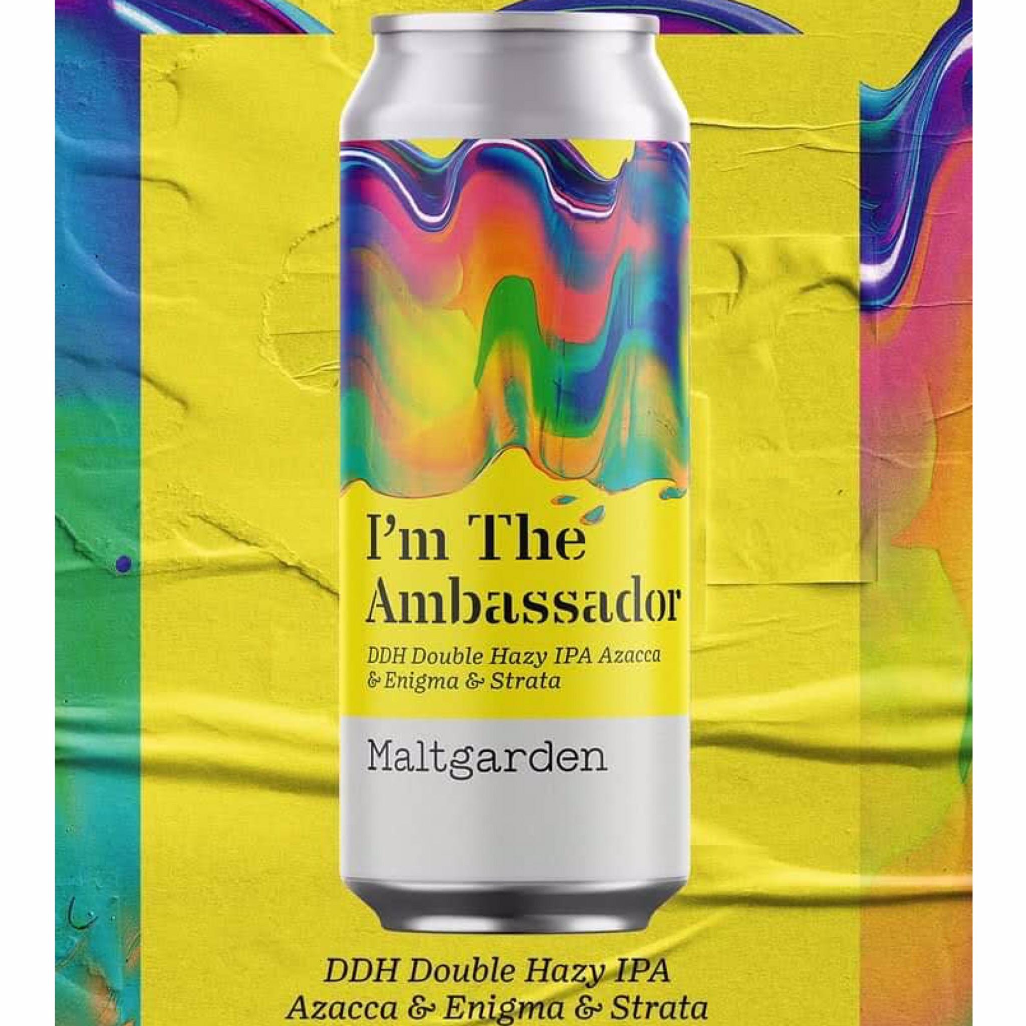 I'm The Ambassador DDH Double Hazy IPA 7.2% 500ml Maltgarden Browar