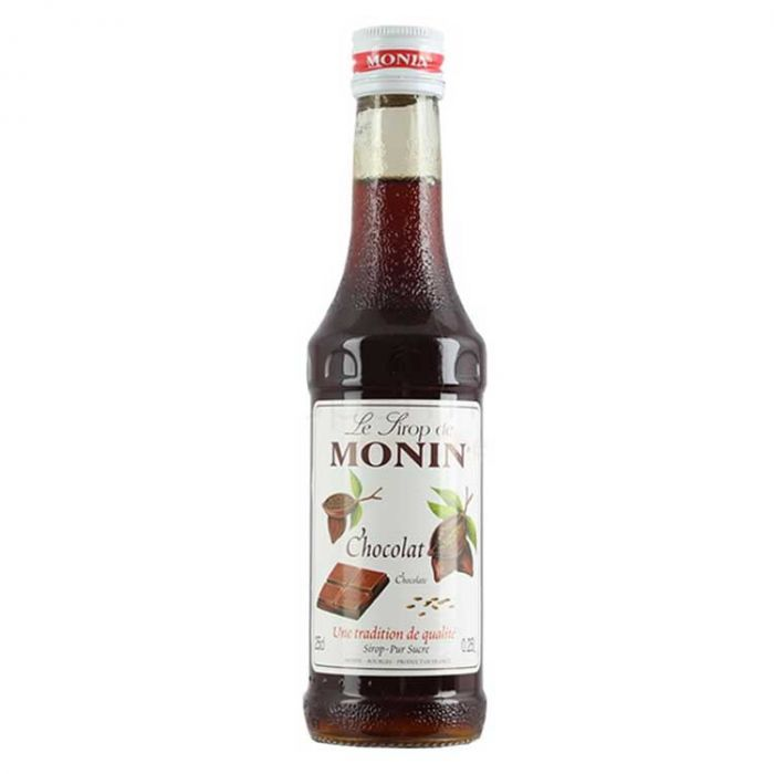 MONIN CHOCOLATE SYRUP 250ml