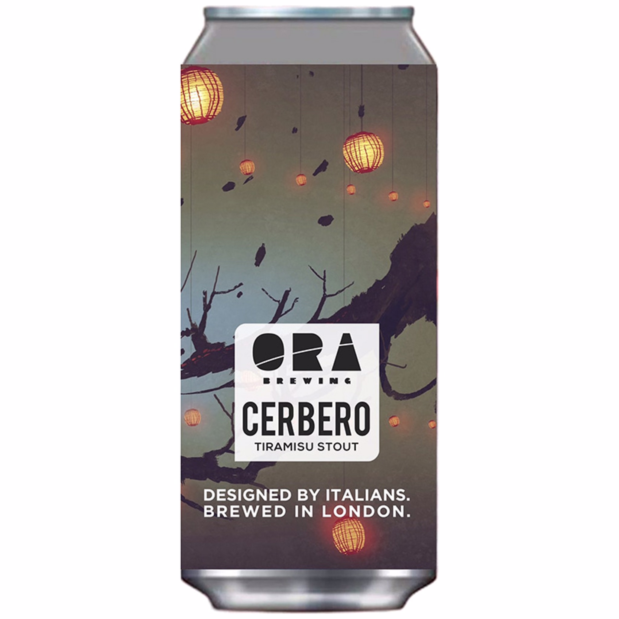 Cerbero Tiramisu Stout 5.6% 440ml Ora Brewing