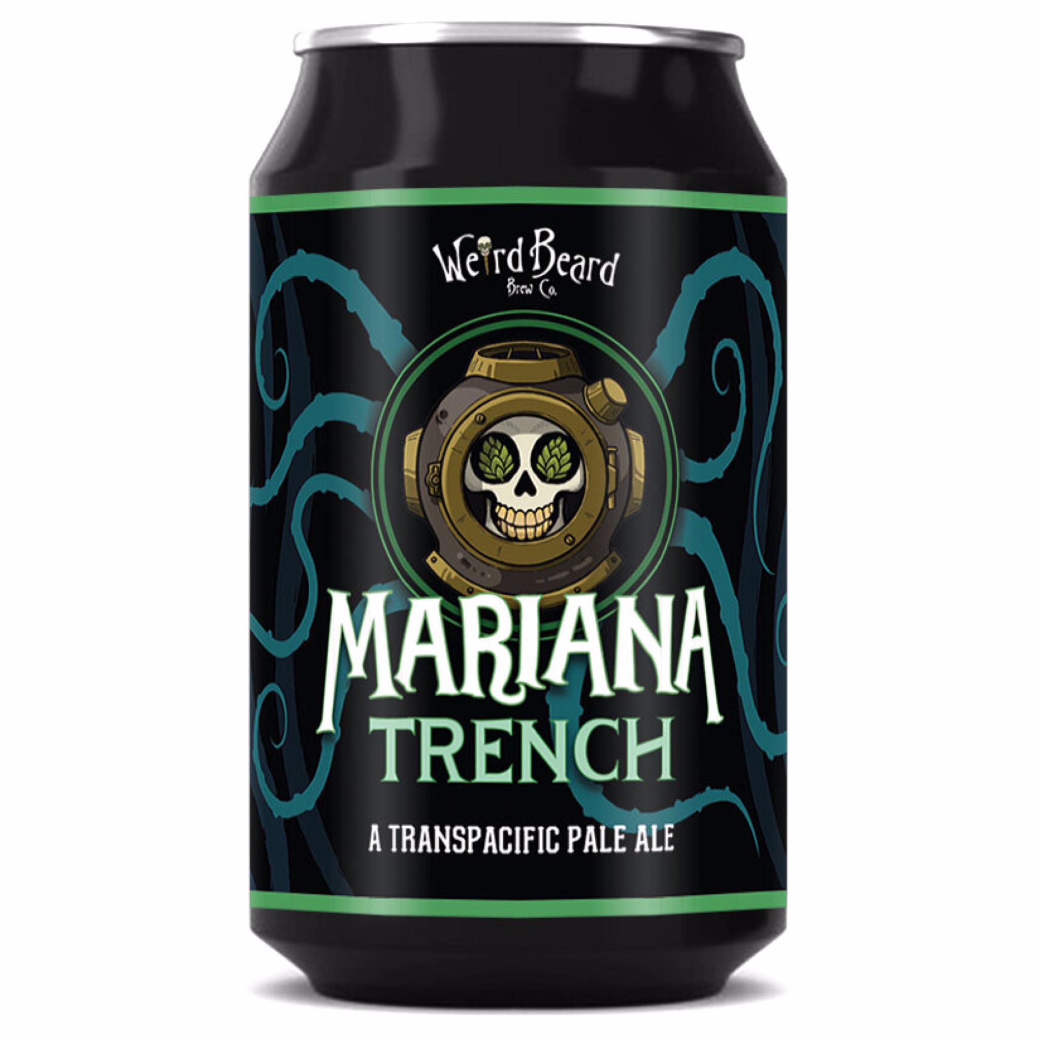 Mariana Trench Transpacific Pale Ale 5.3% 330ml Weird Beard Brew Co