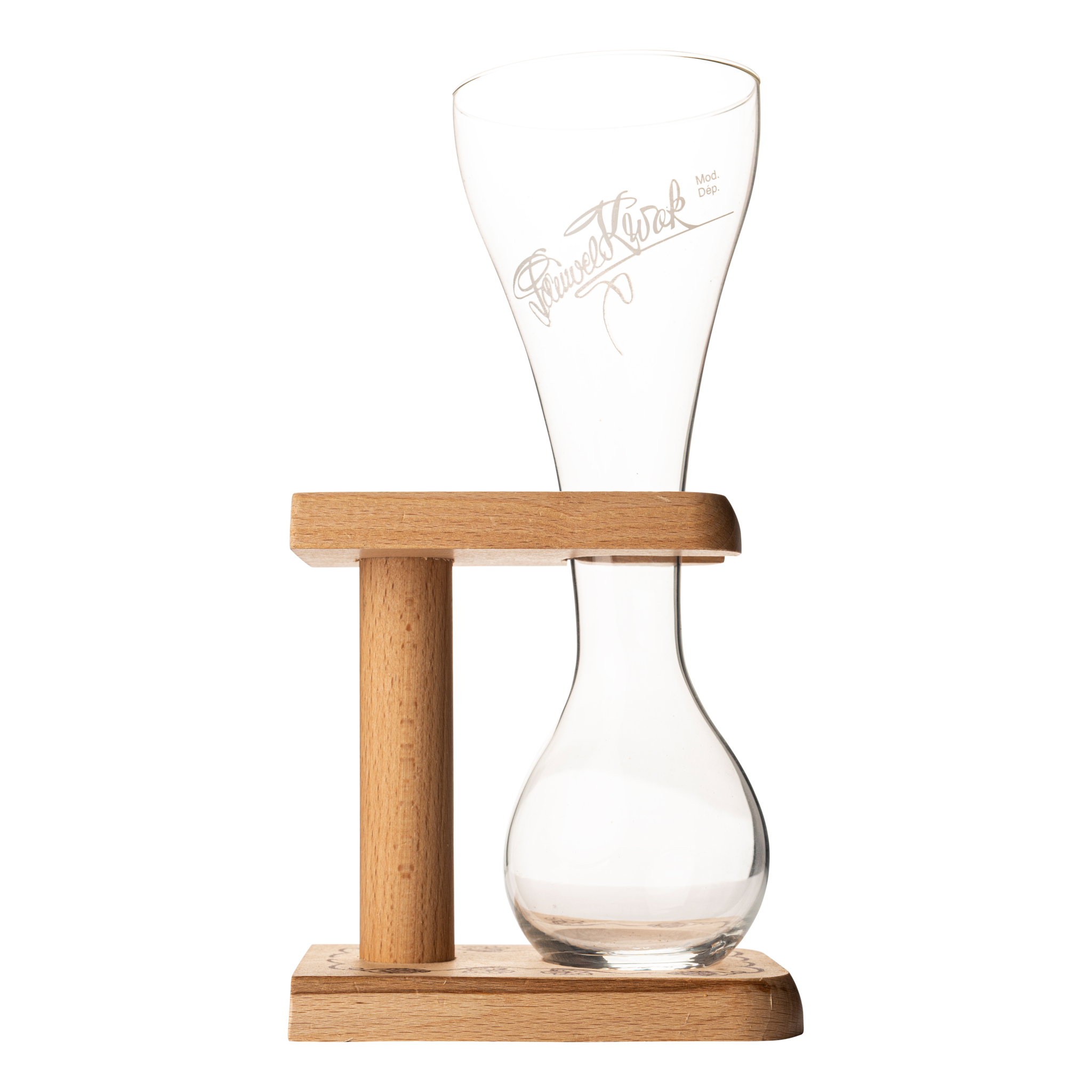 Kwak Beer Glass 33 cl + Holder