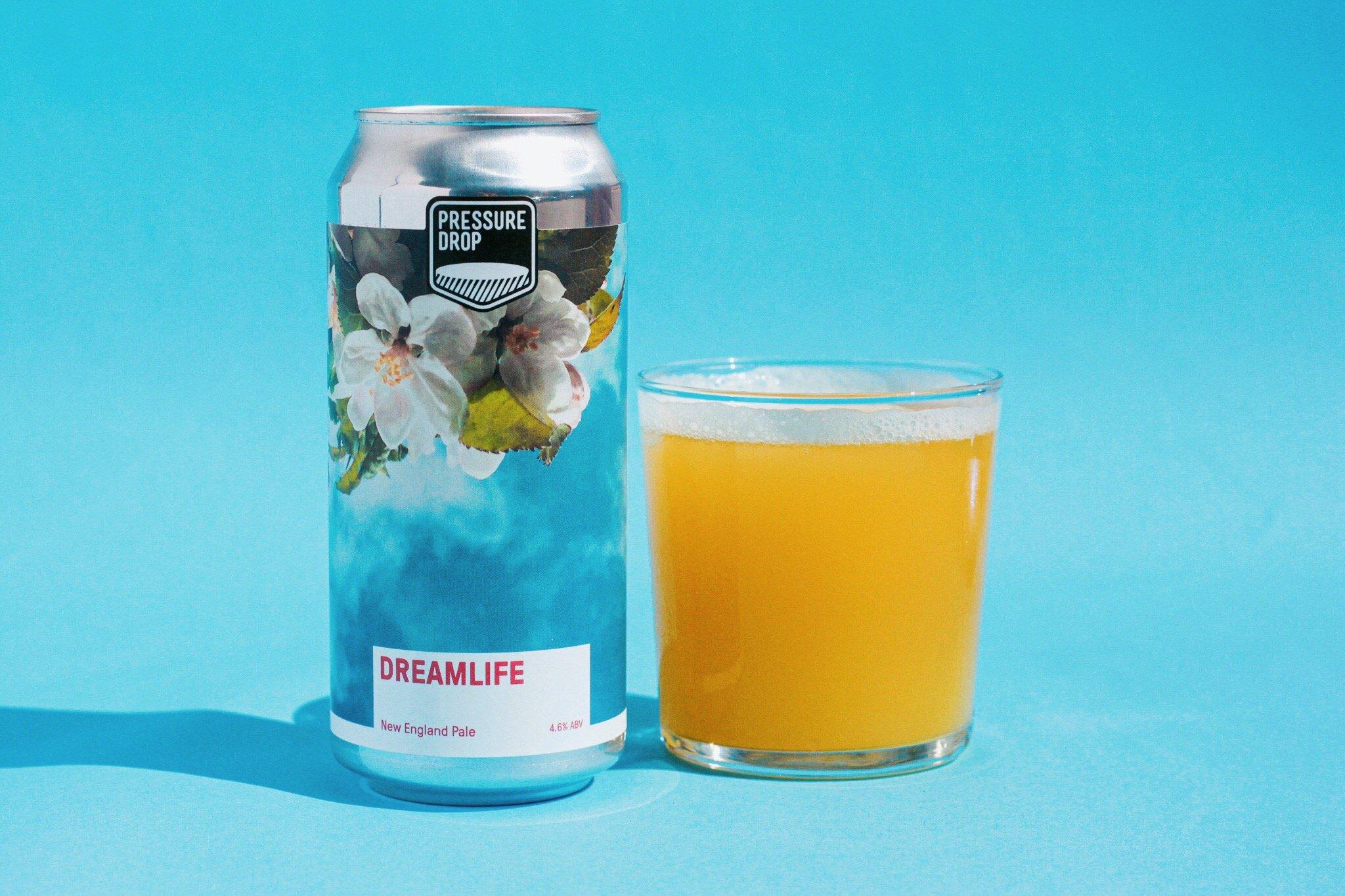 Dreamlife - New England Pale Ale 4.6% 440ml Pressure Drop Brewing