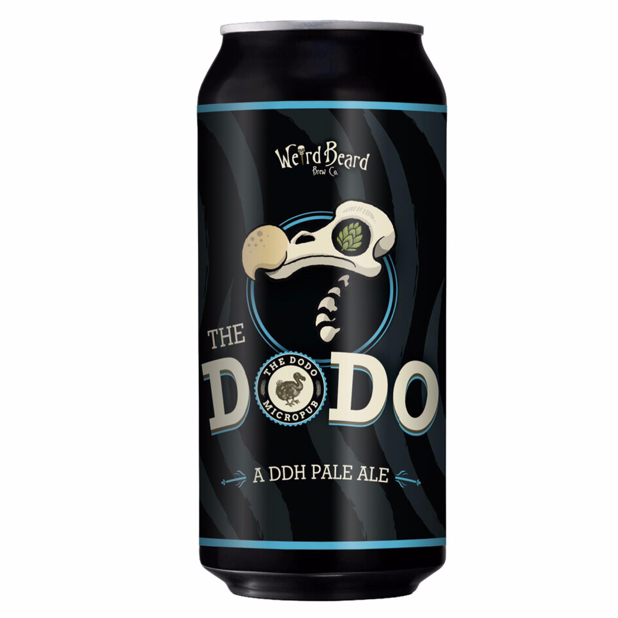 The Dodo DDH Pale Ale 4.6% 440ml Weird Beard Brew Co