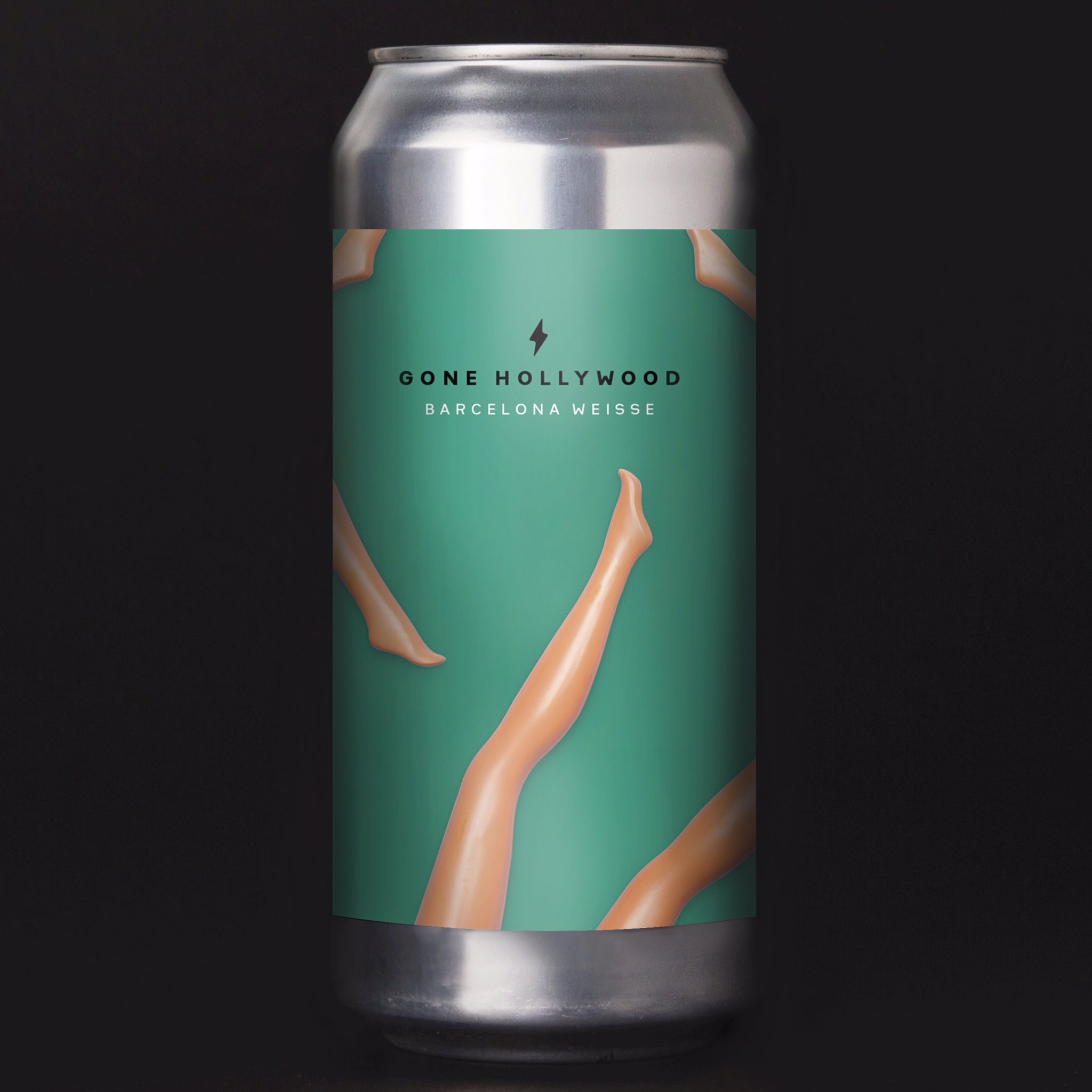 Gone Hollywood - Fruity Barcelona Weisse 4.5% 440ml Garage Beer Co