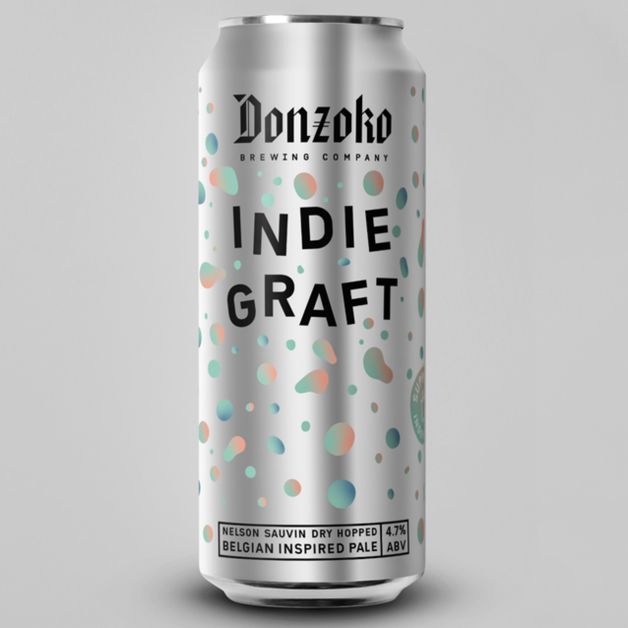 Indie GRAFT 4.7% 500ml Pale Ale Donzoko Brewing