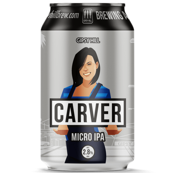 Carver Micro IPA 2.8% 330ml Gipsy Hill Brewing