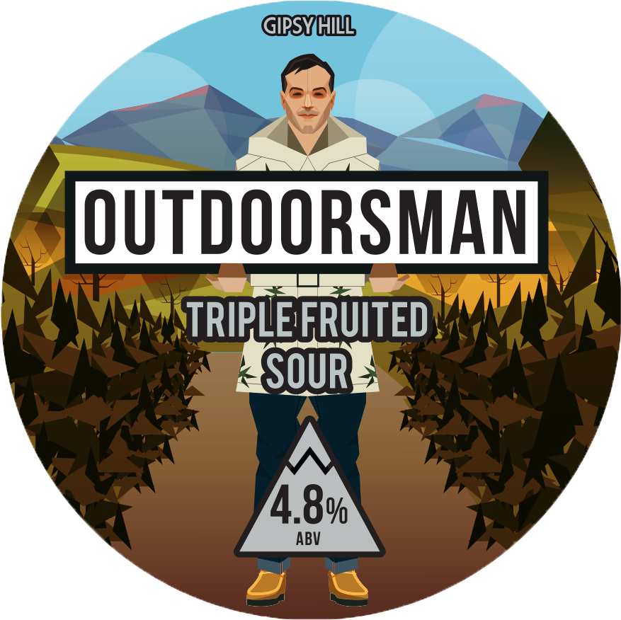 Outdoorsman Triple Fruited Sour 4.8% 440ml Gipsy Hill Brewing