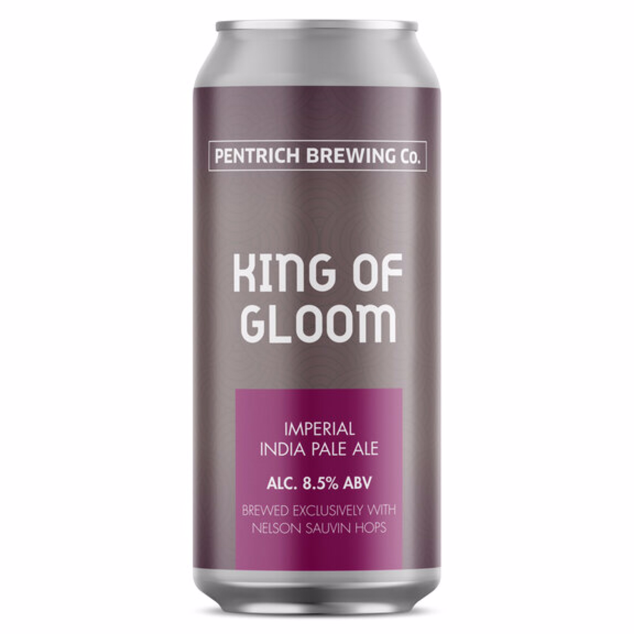 King of Gloom - Imperial IPA 8.5% 440ml Pentrich Brewing Co