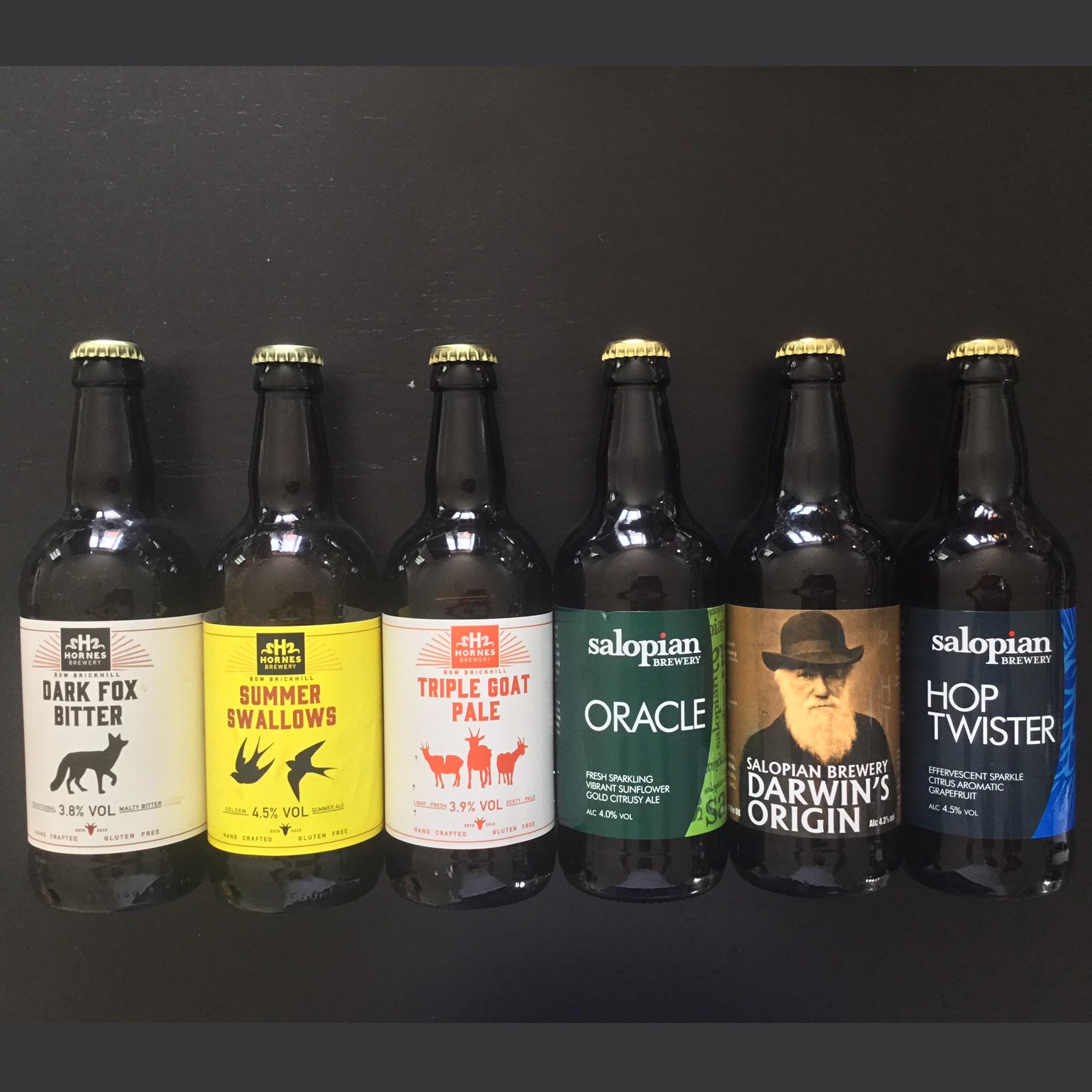 Hornes & Salopian Brewing Gift Box