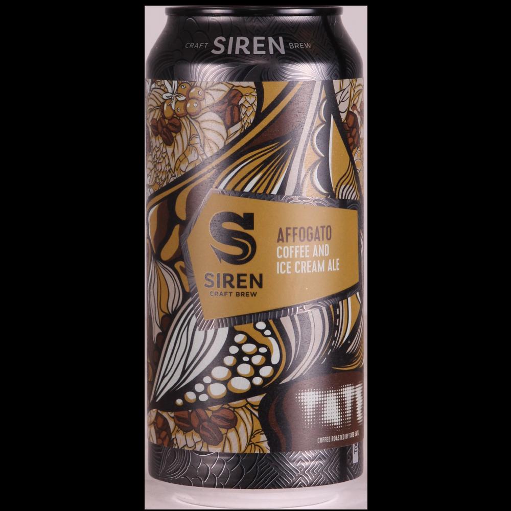 Affogato - Coffe & Ice Cream Ale 6% 440ml Siren Craft Brew