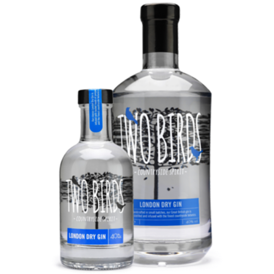 Two Birds London Dry Gin 40%