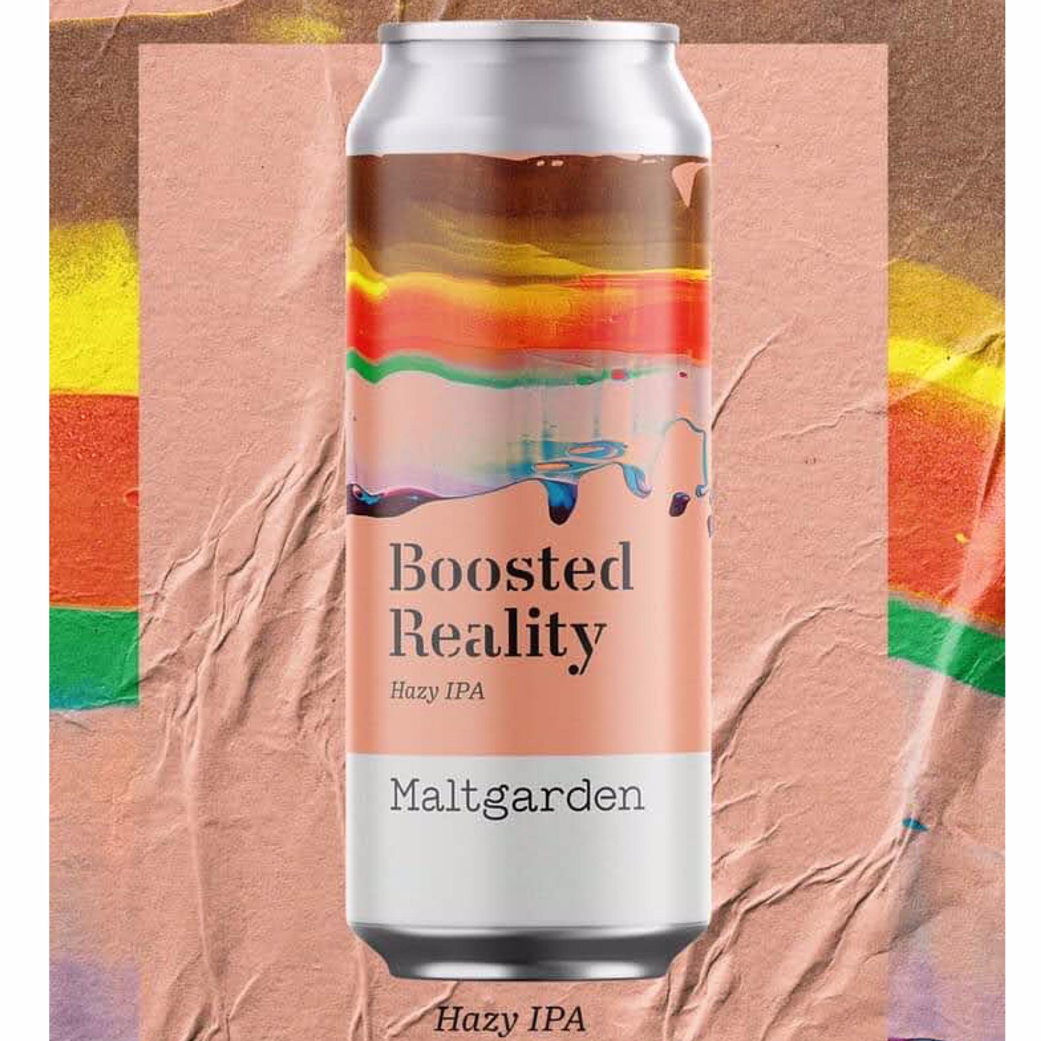 Boosted Reality Hazy IPA 5.3% 500ml Maltgarden Browar