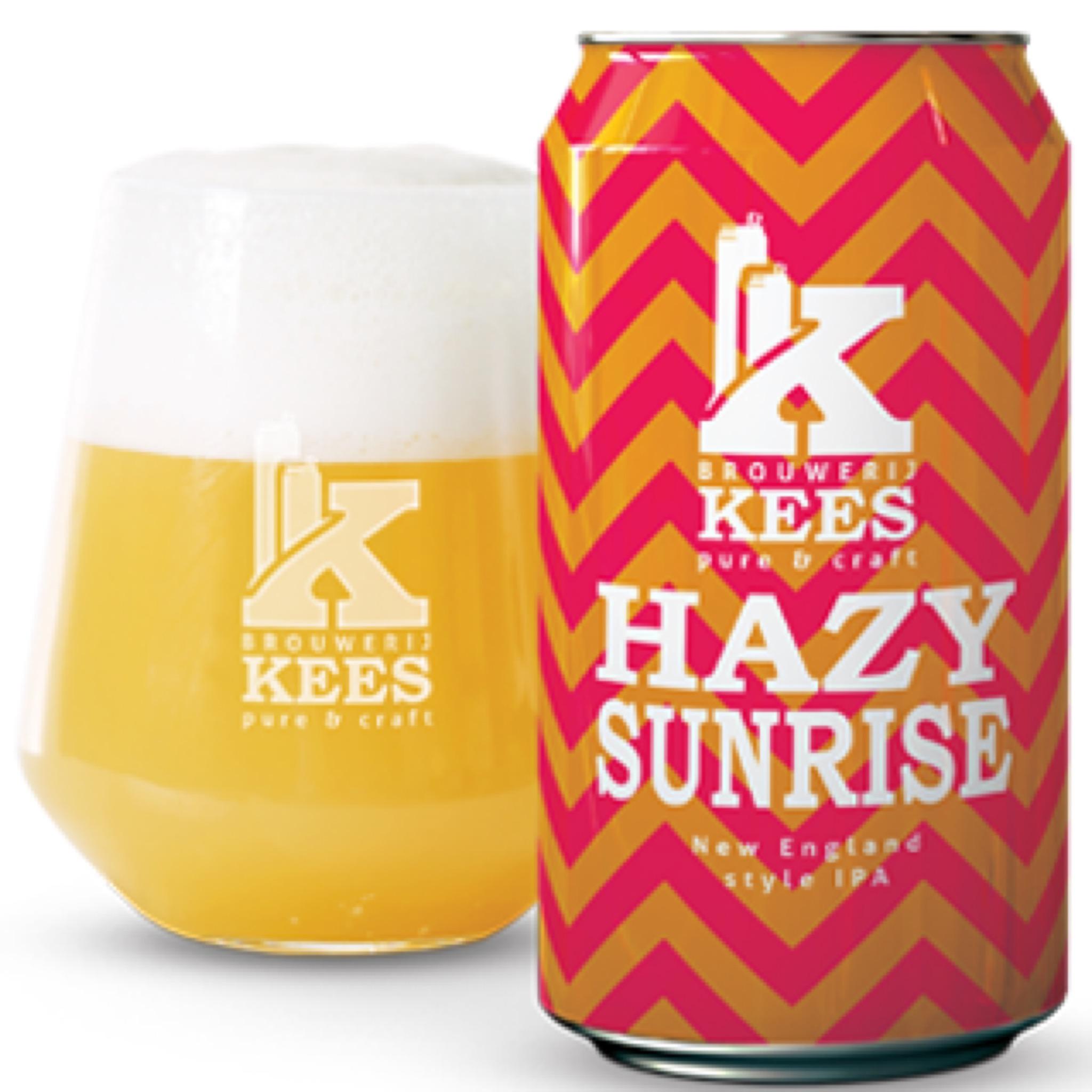Hazy Sunrise NE IPA 7.1% 330ml Brouwerij Kees