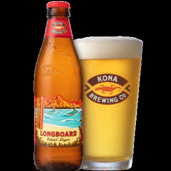 Longboard Island Lager 4.6% 355ml Kona Brewing