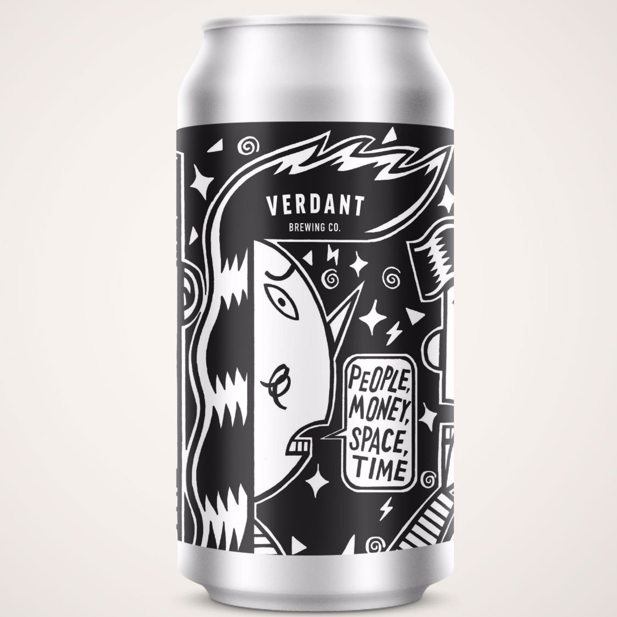 People, Money, Space, Time - Pale Ale 3.8% 440ml Verdant Brewing