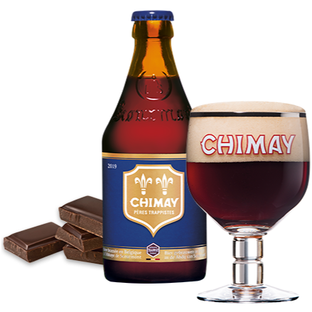 Chimay Blue 9% 330ml Trappist Beer