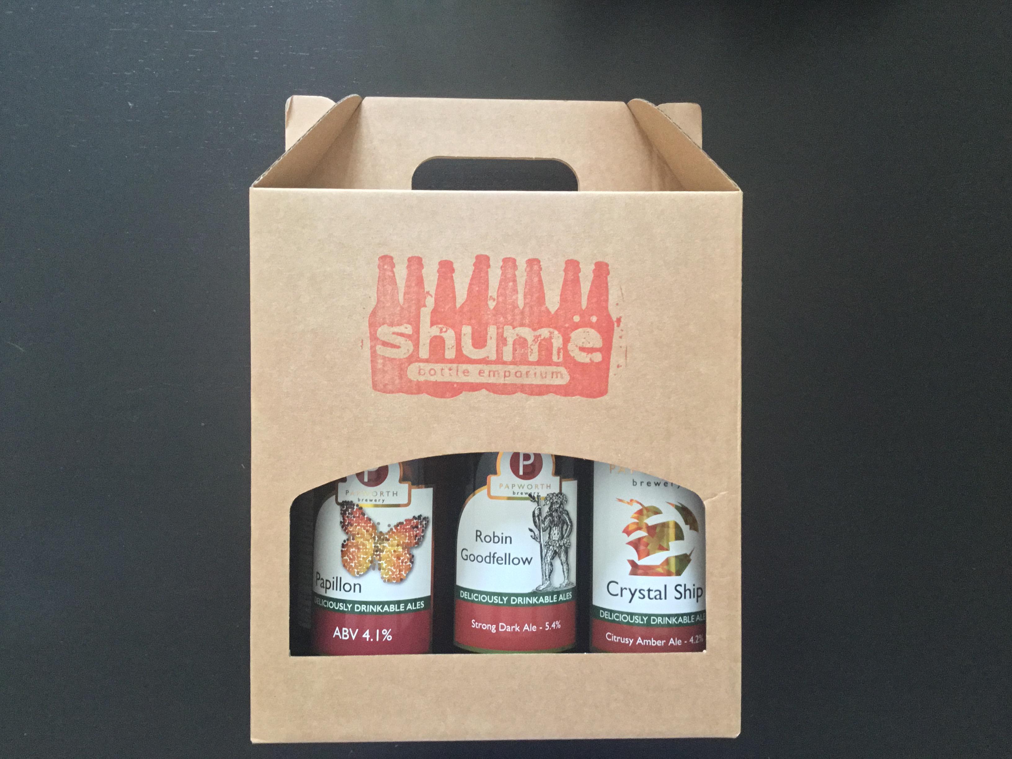 Papworth + Grafham Brewing Gift Box