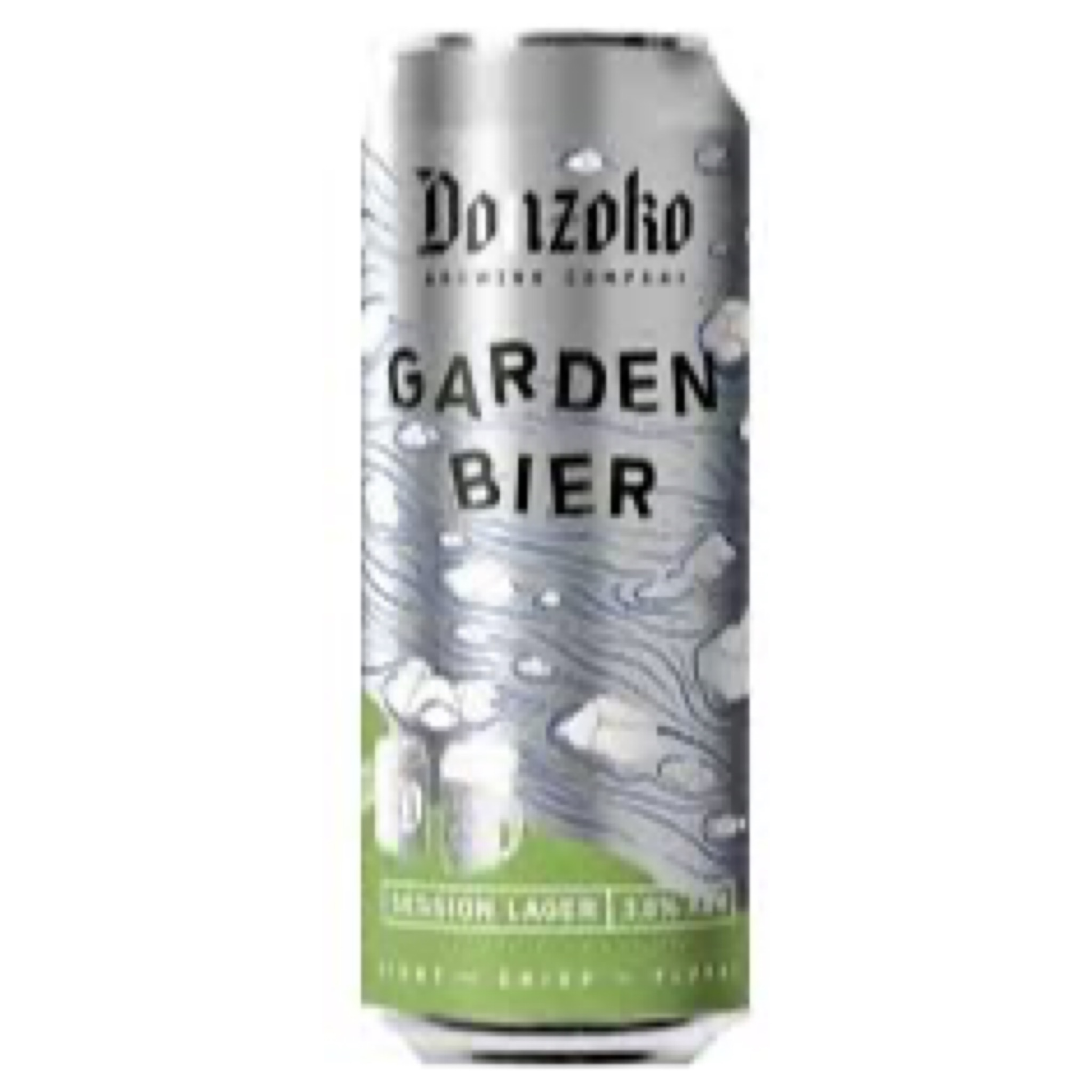 Garden Bier Session Lager 3.8% 500ml Donzoko Brewing
