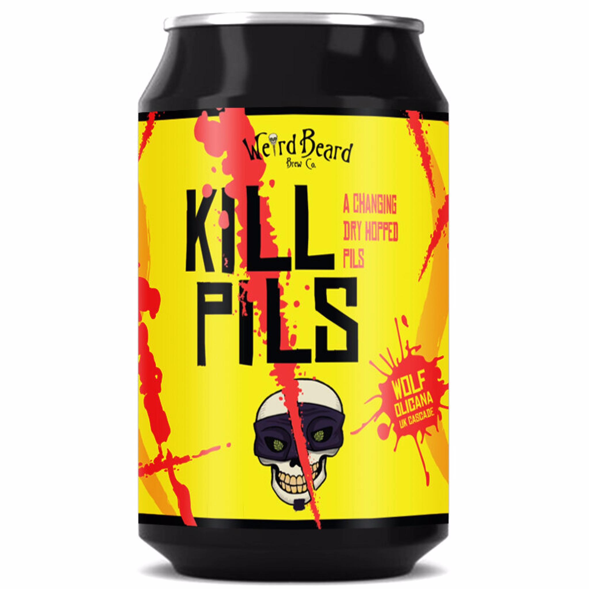 Kill Pils 5% 330ml Weird Beard Brew Co