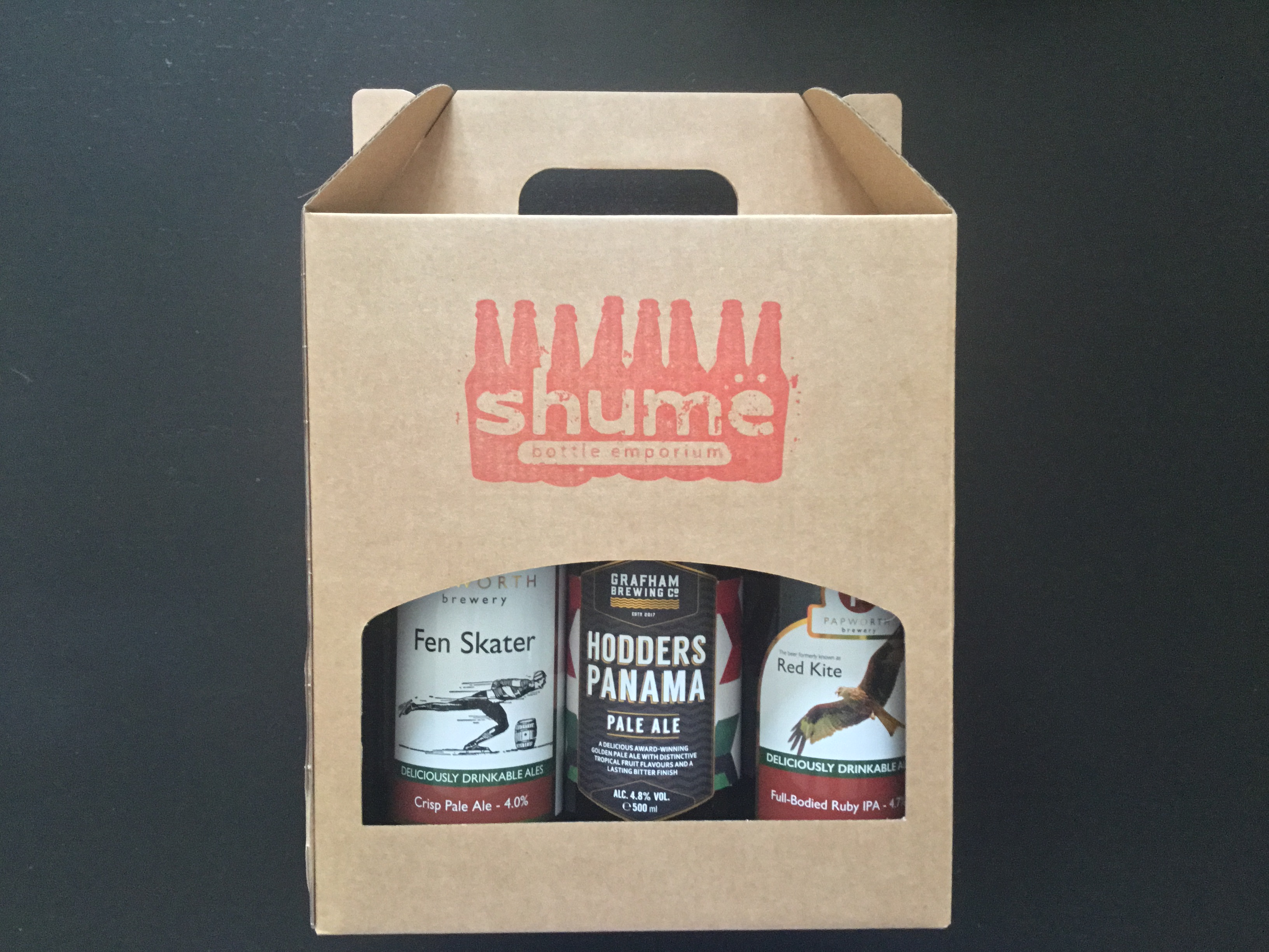 Papworth + Grafham Brewing Gift Box