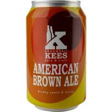American Brown Ale 5.9% 330ml Brouwerij Kees