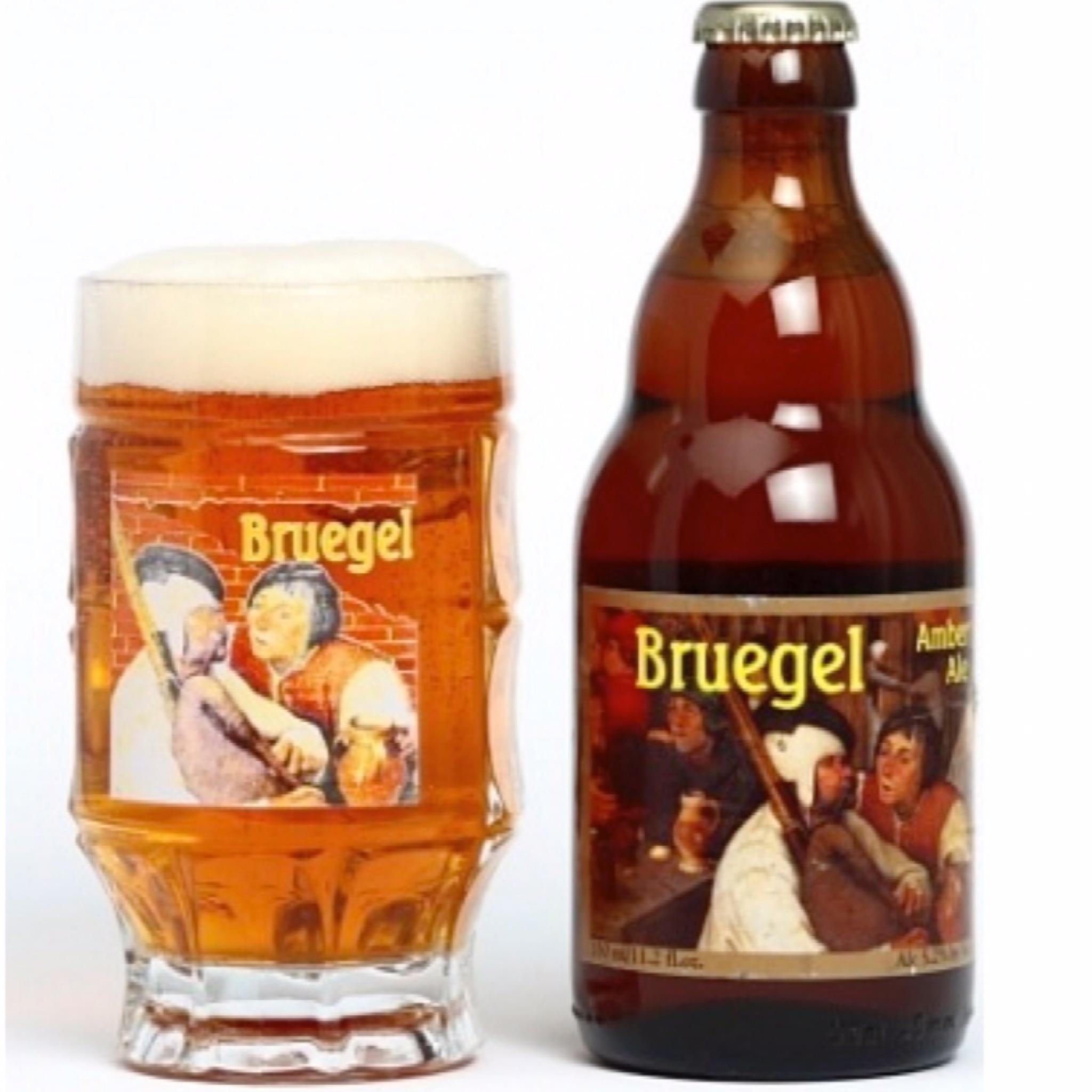 Bruegel Amber Ale 5.2% 330ml Van Steenberge Brewery