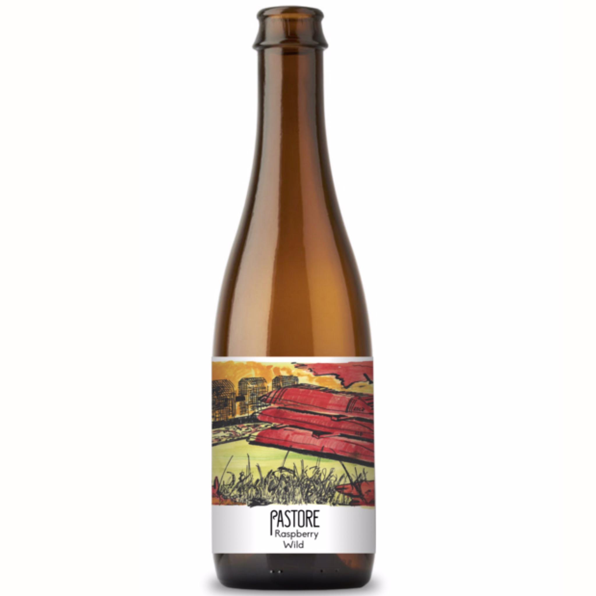 Raspberry Wild 5.0% 375ml Pastore Brewing & Blending